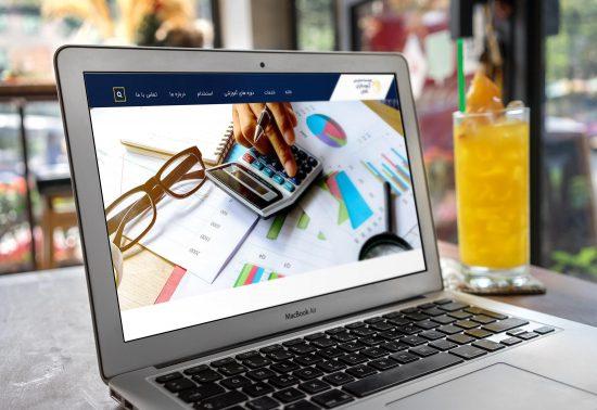 طراحی سایت حسابداری کاشان